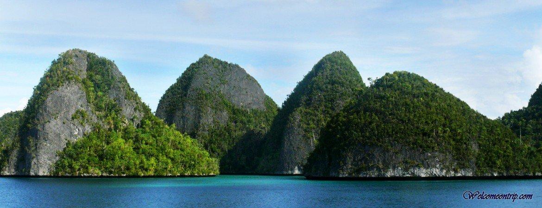Raja Ampat - Papua - Indonesia : Archipelago of Raja Ampat