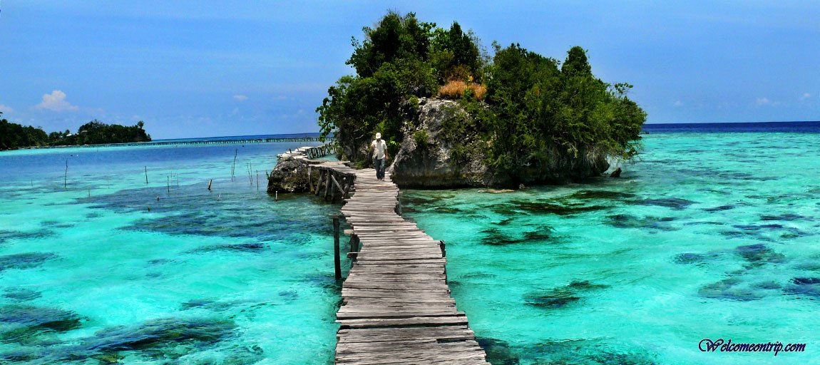 Togians - Sulawesie - Indonesia : Path to Bajo Village